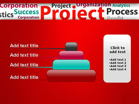 Project Word Cloud PowerPoint Template Slide 8