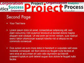Project Word Cloud PowerPoint Template#2