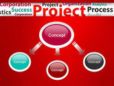 Project Word Cloud PowerPoint Template#4