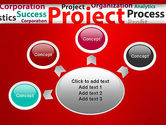 Project Word Cloud PowerPoint Template#7