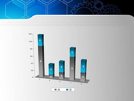 Inside Machine Abstract PowerPoint Template Slide 17
