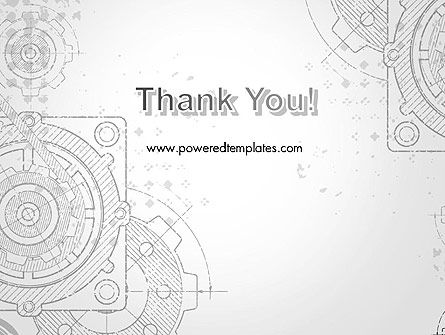 Machine Drawing PowerPoint Template Slide 20