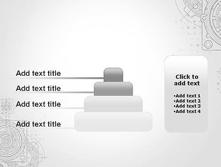 Machine Drawing PowerPoint Template Slide 8