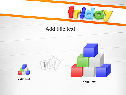 Friday PowerPoint Template Slide 13