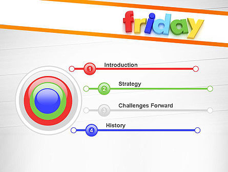 Friday PowerPoint Template, Slide 3, 13252, Holiday/Special Occasion — PoweredTemplate.com