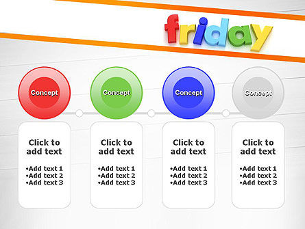 Friday PowerPoint Template Slide 5