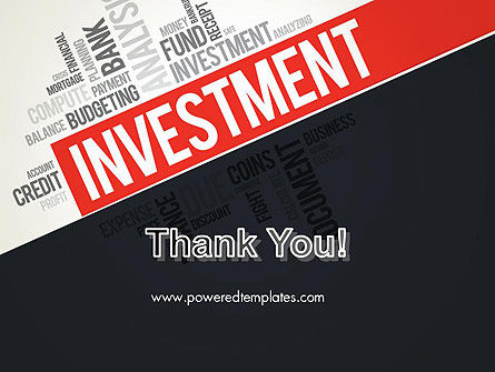 Investment Word Cloud PowerPoint Template Slide 20