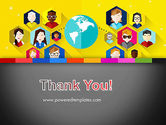 Faces Around the Globe PowerPoint Template#20