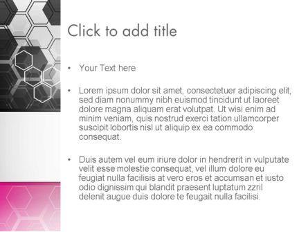 Abstract Hexagons PowerPoint Template, Slide 3, 13260, Abstract/Textures — PoweredTemplate.com