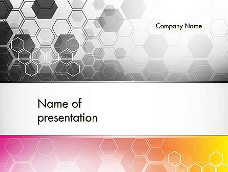 Abstract Hexagons PowerPoint Template