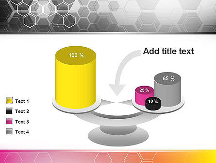 Abstract Hexagons PowerPoint Template Slide 10
