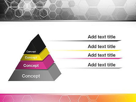 Abstract Hexagons PowerPoint Template Slide 12
