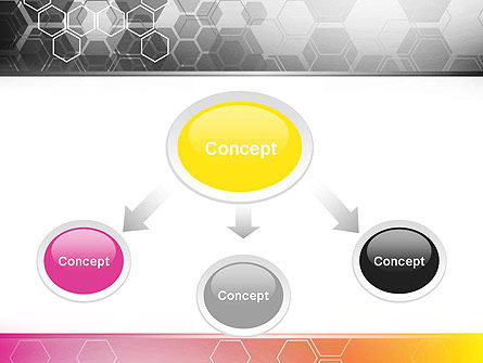 Abstract Hexagons PowerPoint Template Slide 4