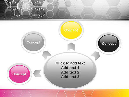 Abstract Hexagons PowerPoint Template Slide 7