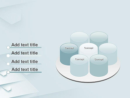 White Paper Style Abstract PowerPoint Template Slide 12