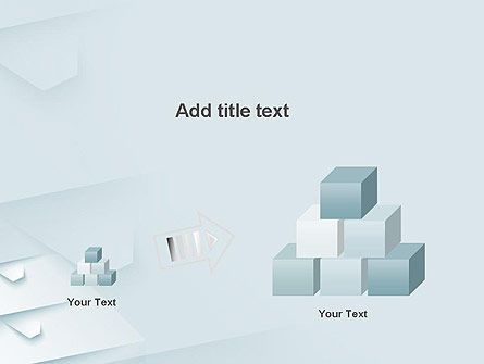 White Paper Style Abstract PowerPoint Template Slide 13