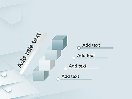 White Paper Style Abstract PowerPoint Template Slide 14
