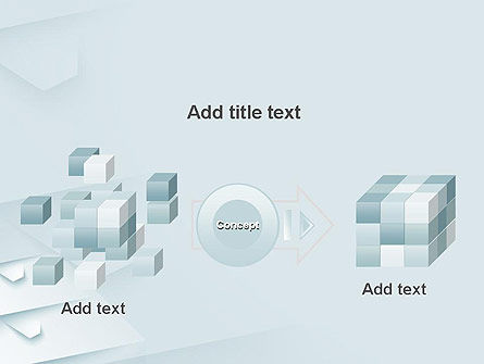White Paper Style Abstract PowerPoint Template Slide 17