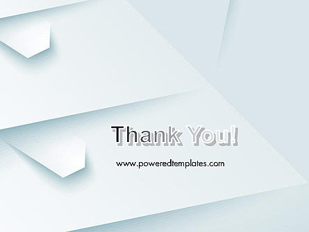 White Paper Style Abstract PowerPoint Template Slide 20