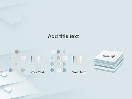 White Paper Style Abstract PowerPoint Template Slide 9