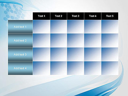 Soft Blue Wave Abstract PowerPoint Template Slide 15