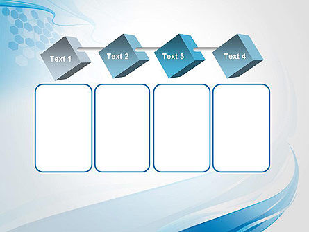 Soft Blue Wave Abstract PowerPoint Template Slide 18