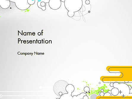 Abstract Avant Garde PowerPoint Template, 13267, Art & Entertainment — PoweredTemplate.com