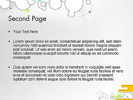 Abstract Avant Garde PowerPoint Template Slide 2