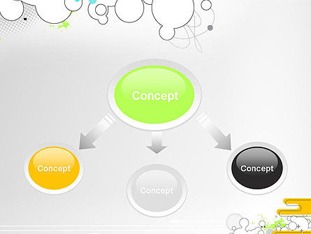 Abstract Avant Garde PowerPoint Template, Slide 4, 13267, Art & Entertainment — PoweredTemplate.com