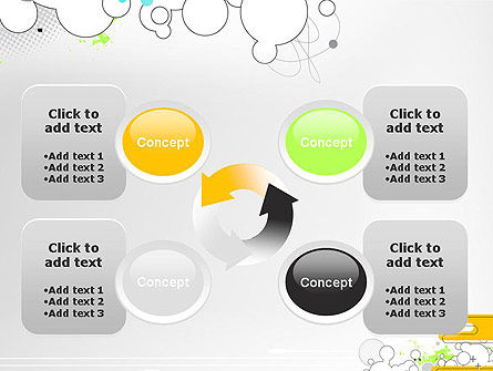 Abstract Avant Garde PowerPoint Template Slide 9