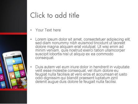 Mobile Web Marketing PowerPoint Template, Slide 3, 13268, Technology and Science — PoweredTemplate.com