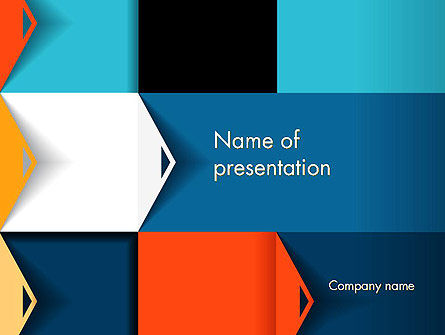 Grid Options Abstract PowerPoint Template