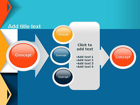 Grid Options Abstract PowerPoint Template Slide 17