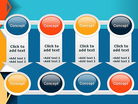 Grid Options Abstract PowerPoint Template Slide 18