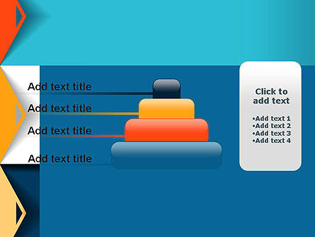Grid Options Abstract PowerPoint Template Slide 8