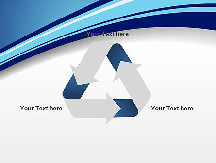 Curved Highway Abstract PowerPoint Template Slide 10