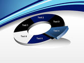 Curved Highway Abstract PowerPoint Template#19