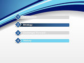 Curved Highway Abstract PowerPoint Template#3