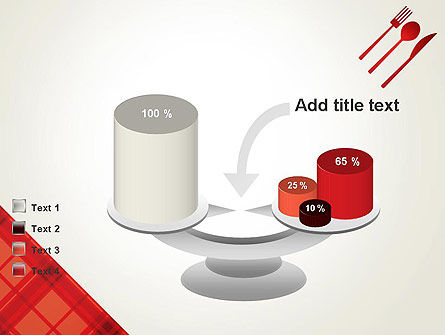 Tablecloth Decoration Illustration PowerPoint Template Slide 10