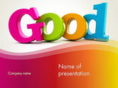 Education & Training: Positive Affirmations PowerPoint Template #13276