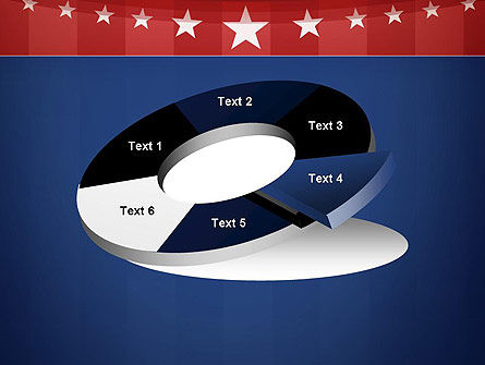 American Flag Stylized Background PowerPoint Template Slide 19