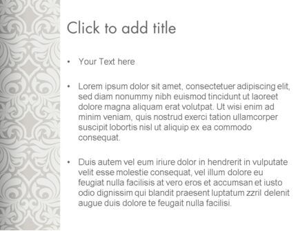 Ornate PowerPoint Template, Slide 3, 13279, Art & Entertainment — PoweredTemplate.com