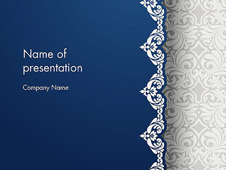 Ornate PowerPoint Template, 13279, Art & Entertainment — PoweredTemplate.com