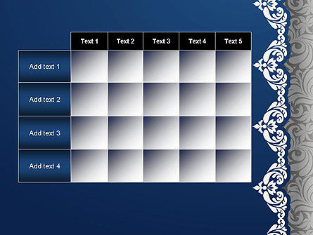 Ornate PowerPoint Template Slide 15