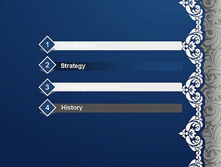 Ornate PowerPoint Template, Slide 3, 13279, Art & Entertainment — PoweredTemplate.com