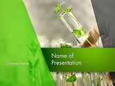 Agriculture: Genetically Modified Plants PowerPoint Template #13282