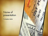 Financial/Accounting: Good Credit Score PowerPoint Template #13283
