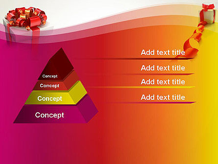 Gift Boxes with Red Bows PowerPoint Template Slide 12