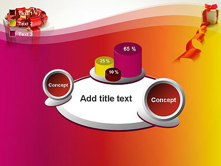 Gift Boxes with Red Bows PowerPoint Template Slide 16