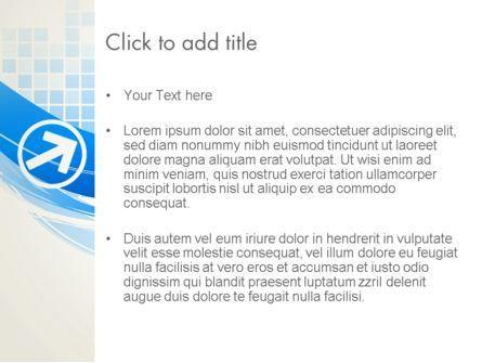 Tech Wave Abstract PowerPoint Template, Slide 3, 13285, Abstract/Textures — PoweredTemplate.com